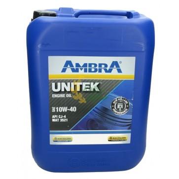 Масло моторное UNITEK 10w-40 20л