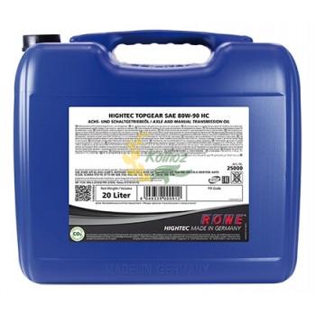 Трансмиссионное масло HIGHTEC TOPGEAR 80w-90 20л